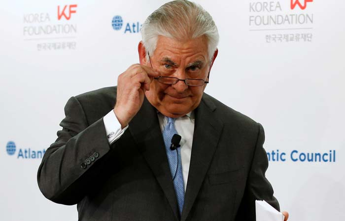 Тиллерсон предложил КНДР переговоры без предварительных условий