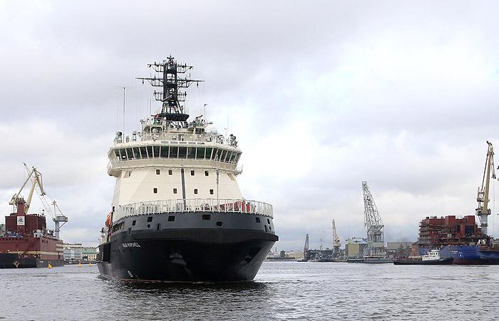 Набазу Северного флота прибыл новый ледокол «Илья Муромец»