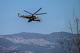 В Сирии разбился российский вертолет Ми-24