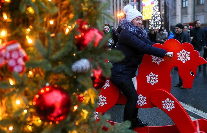 Синоптики спрогнозировали рекордно теплое Рождество в Москве