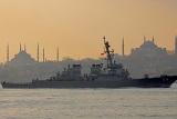 """В Черное море зашел ракетный эсминец ВМС США """"Карни"""""""