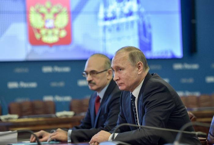 Избирательный фонд Владимира Путина полностью сформирован