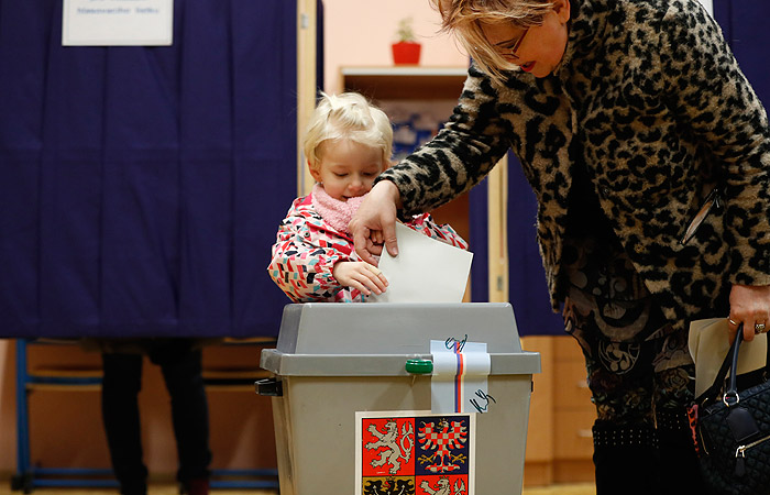 В Чехии пройдет второй тур президентских выборов