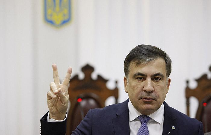 """Саакашвили собрался найти на Украине """"300 спартанцев"""" для смены власти"""
