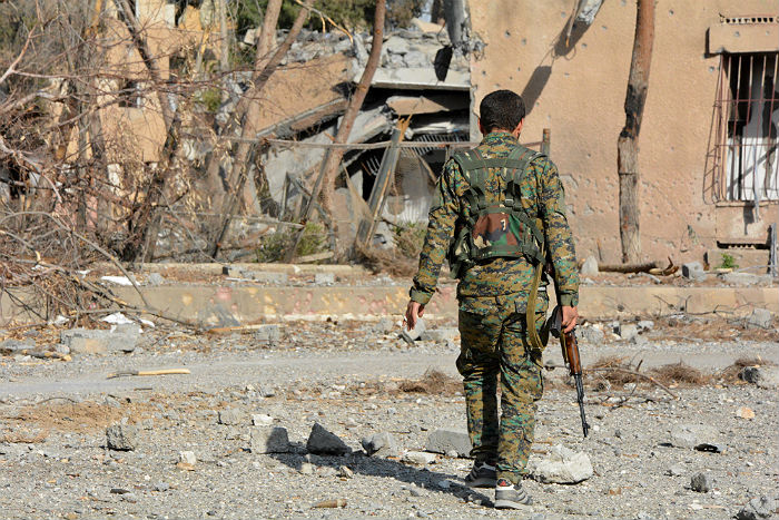 Коалиция во главе с США решила создать в Сирии силы безопасности границы