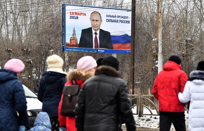 ВЦИОМ насчитал 81% собирающихся проголосовать за Путина на президентских выборах