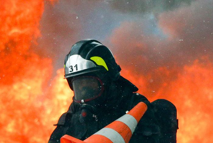 В саратовском селе загорелся нефтепровод