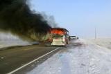 Комиссии Казахстана и Узбекистана начали расследование гибели людей при пожаре в автобусе