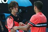 Рублев уступил Димитрову и выбыл из Australian Open