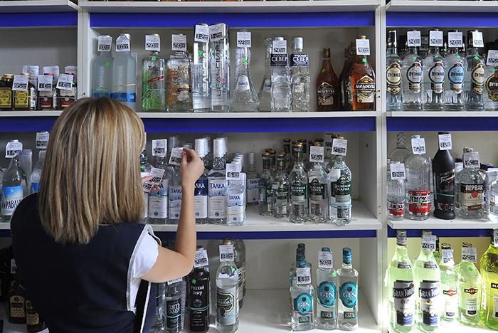 В РФ за2017 год продажа водки упала на16,6%
