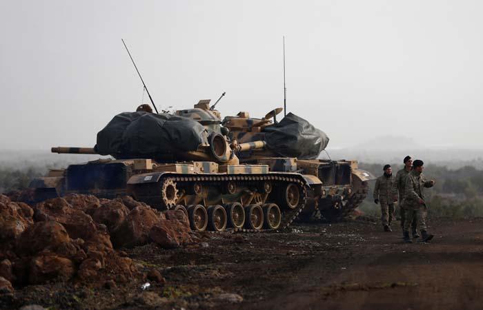 В боях у Африна погибло не менее 45 человек с обеих сторон