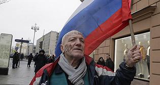 Акция сторонников Навального в Москве