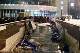 Пять человек госпитализированы после обрушения лесов в переходе у метро в Москве