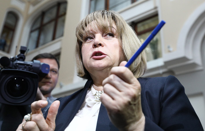 Глава ЦИК сделала Пескову замечание за предвыборную агитацию