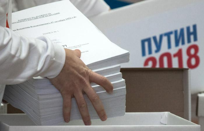 В подписях в поддержку Путина нашли рекордно малое количество брака