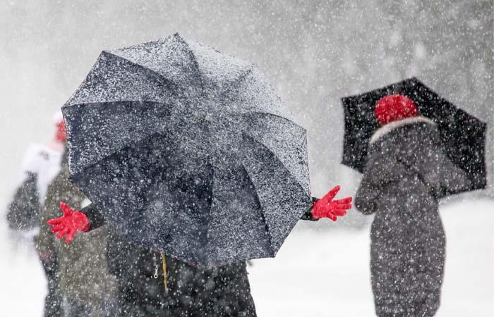 Субботний снегопад в столице России стал самым необычайным завсю историю метеонаблюдений