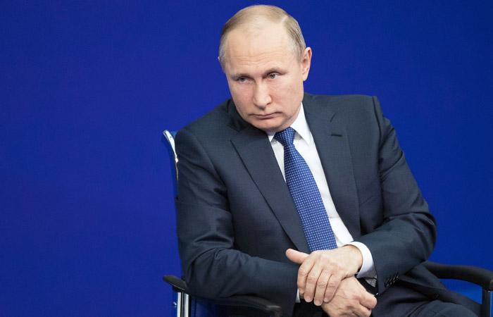 Путин зарегистрирован кандидатом на пост президента России