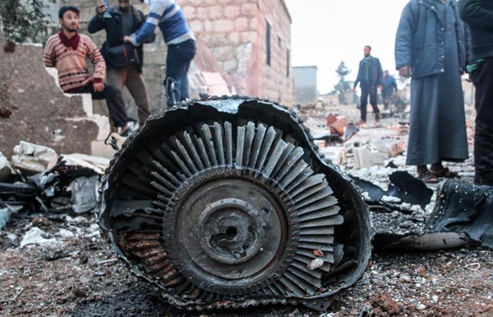 Установлено место попадания ракеты вупавший Су-25 вСирии
