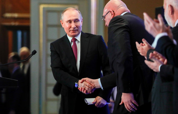 "Путин на встрече с бюро РСПП не обсуждал американский ""кремлевский доклад"""