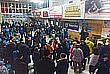 Аэропорт города Орск в Оренбургской области, куда должен был прилететь разбившийся Ан-148. В воздушной гавани собираются родные пассажиров