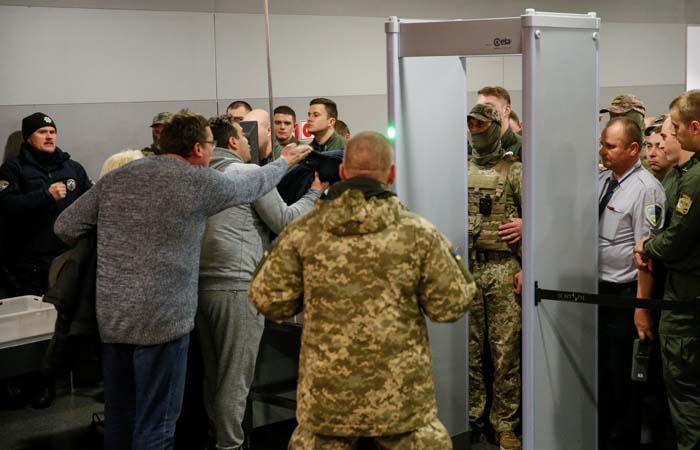 Саакашвили опубликовал видеозапись своего задержания в Киеве