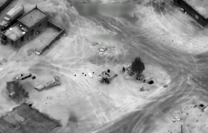 Появилось видео удара США с гибелью наемников из России
