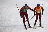 Российские лыжники завоевали серебро ОИ в эстафете