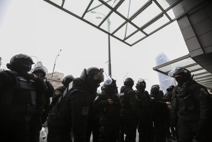 В Киеве накануне проведения протестных акций усилили меры безопасности