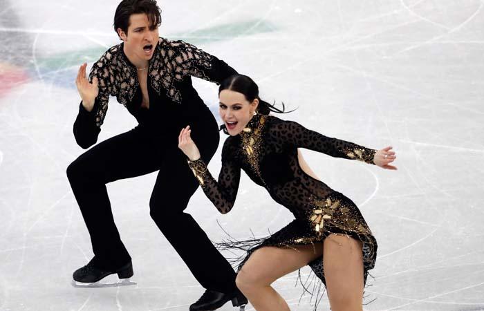 Канадцы Тесса Вирчу иСкотт Мойр установили мировой рекорд вкоротком танце