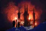 Создатель сожженного под Калугой арт-объекта  ответил на обвинения в кощунстве