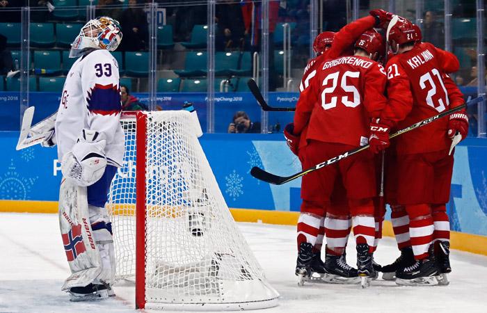 Сборная Чехии обыграла США вчетвертьфиналеОИ