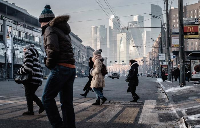 """""""Оранжевый"""" уровень погодной опасности объявлен в Москве из-за морозов"""