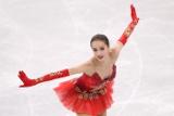 Загитова побила установленный Медведевой рекорд мира в короткой программе