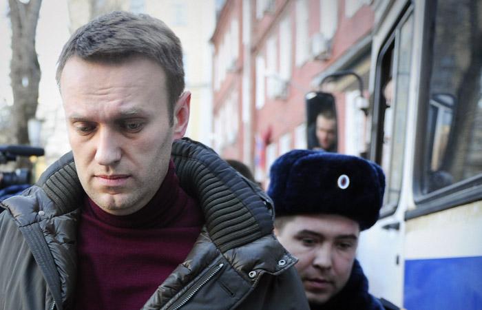Российского оппозиционера Навального задержали после визита к стоматологу