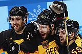 Германия стала соперником России по финалу хоккейного турнира ОИ