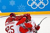 Российские хоккеисты победили Чехию и вышли в финал ОИ