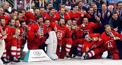 Золото российских хоккеистов на Олимпиаде