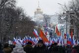 Полиция насчитала 4,5 тысячи человек на шествии памяти Немцова в Москве