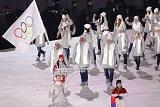 Спортсмены из РФ не смогут пройти под российским флагом на закрытии Олимпиады