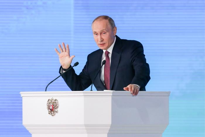 Путин обвинил США в старте гонки вооружений