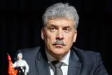 ЦИК не намерен снимать Грудинина с выборов из-за незадекларированных счетов