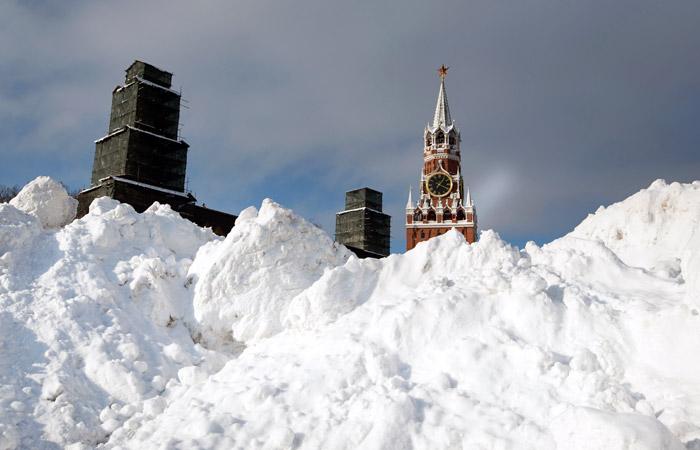 Прошедшая зима в Москве заняла второе место по количеству осадков за 140 лет