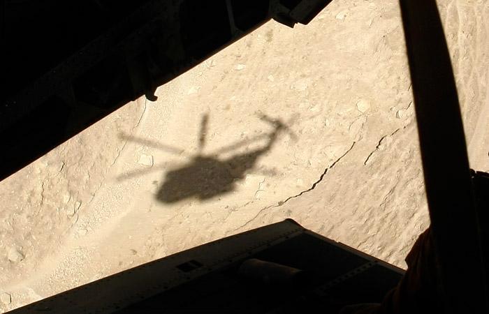 Вертолет разбился в горах на юге Чечни