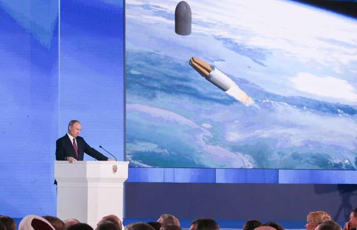 В Минобороны рассказали о крылатой ракете с ядерным двигателем и другом оружии из послания Путина