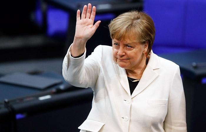 Меркель в четвертый раз подряд стала канцлером Германии