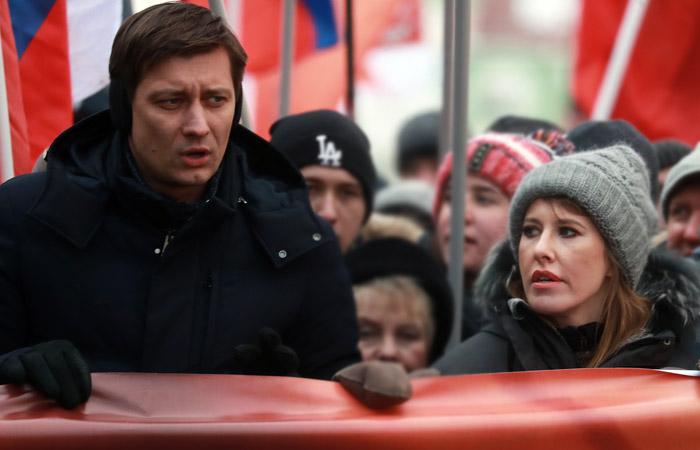 Ксения Собчак иДмитрий Гудков создадут новейшую партию