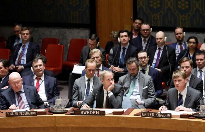 Лондон обвинил Москву в нарушении устава ООН и Конвенции о запрещении химоружия