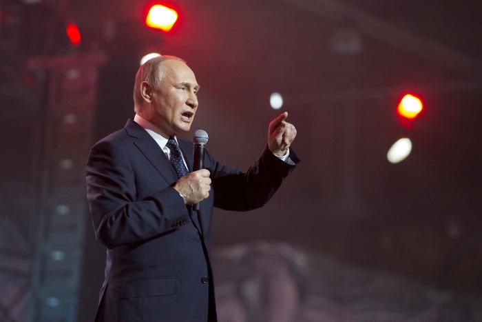 Путин поблагодарил приверженцев заподдержку