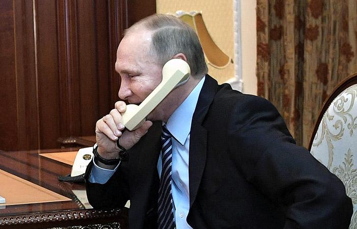В Кремле перечислили поздравивших Путина с победой на выборах