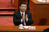Си Цзиньпин поздравил Путина с переизбранием на посту президента России